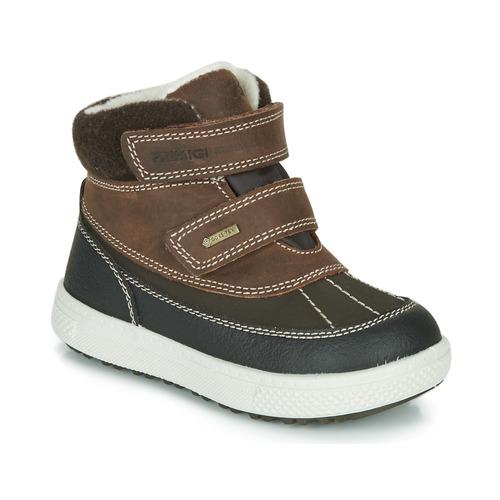 Shoes Boy Mid boots Primigi PEPYS GORE-TEX Brown