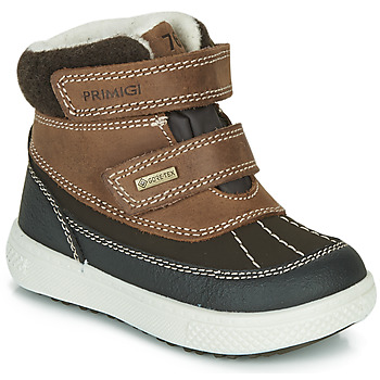 Shoes Boy Mid boots Primigi (enfant) PEPYS GORE-TEX Brown