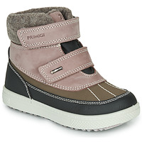 Shoes Girl Mid boots Primigi (enfant) PEPYS GORE-TEX Old / Pink / Brown