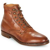 Shoes Men Mid boots Kost MILITANT 17 Cognac