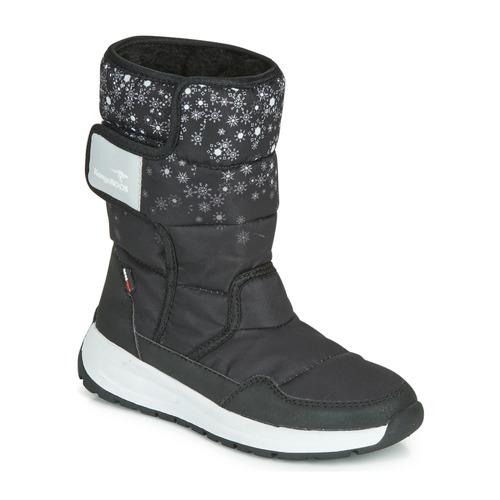 Shoes Women Wellington boots Kangaroos K-FLUFF RTX Black / Grey