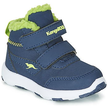 Shoes Children Snow boots Kangaroos SNOWDRIFTER Marine / Green