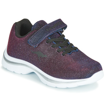 Shoes Girl Low top trainers Kangaroos KANGASHINE EV II Marine / Multicoloured