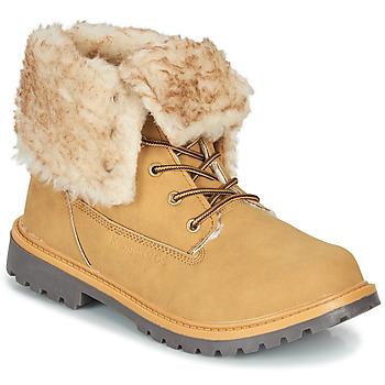 Shoes Women Mid boots Kangaroos RIVETER JR HI Cognac