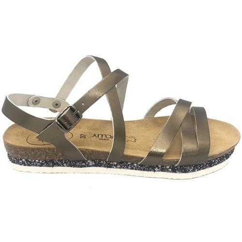 Shoes Women Sandals Amoa sandales MIMOSAS Aciero Grey