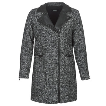 Clothing Women coats Le Temps des Cerises DEBO Black
