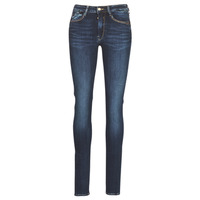 Clothing Women slim jeans Le Temps des Cerises PULP HIGH SLIM Blue