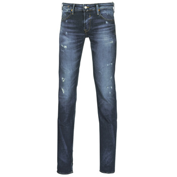 Clothing Men slim jeans Le Temps des Cerises 711 MAT Blue