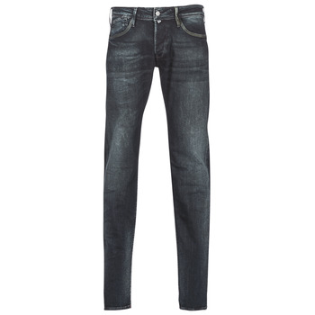 Clothing Men slim jeans Le Temps des Cerises 711 HAN Black