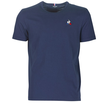 Clothing Men short-sleeved t-shirts Le Coq Sportif ESS TEE SS N°2 M Blue / Marine