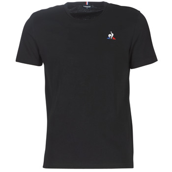Clothing Men Short-sleeved t-shirts Le Coq Sportif ESS TEE SS N°2 M Black