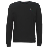 Clothing Men sweaters Le Coq Sportif ESS CREW SWEAT N°2 M Black