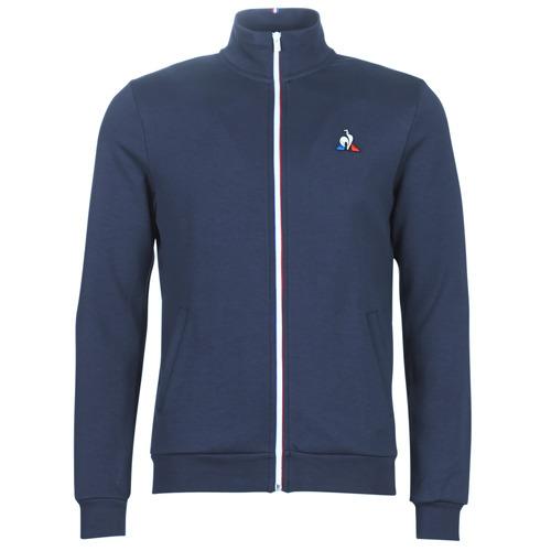 Clothing Men Track tops Le Coq Sportif ESS FZ SWEAT N°2 M Blue / Marine