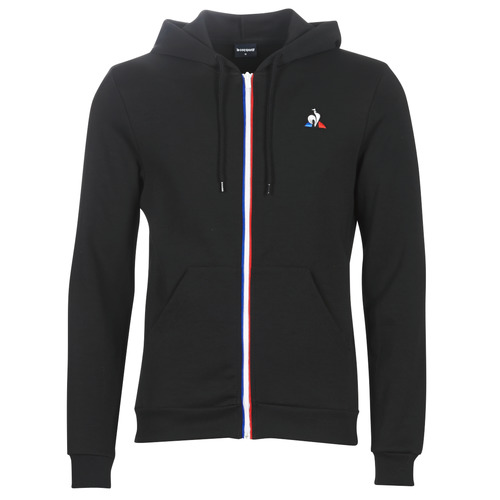 Clothing Men Track tops Le Coq Sportif ESS FZ HOODY N°2 M Black