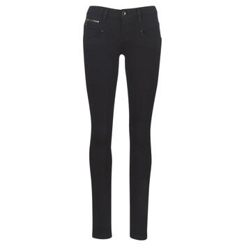 Clothing Women slim jeans Freeman T.Porter ALEXA SLIM S-SDM Black