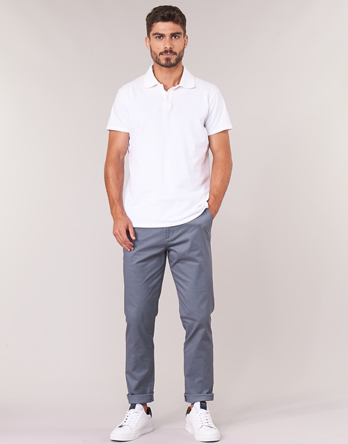 Clothing Men Chinos Selected SLHSLIM Grey