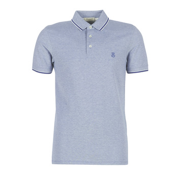 Clothing Men short-sleeved polo shirts Selected SLHTWIST Marine