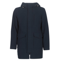 Clothing Men coats Selected SLHWOOL Marine