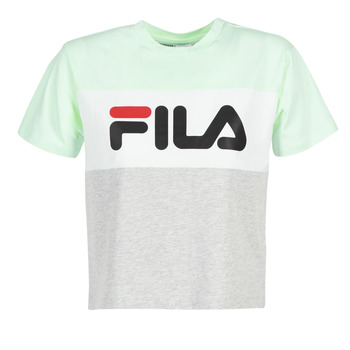 Clothing Women short-sleeved t-shirts Fila ALLISON TEE Blue / Grey