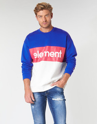 Clothing Men sweaters Element PRIMO DIVISION CR Blue / White