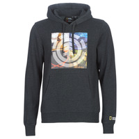 Clothing Men Sweaters Element QUADRANT SEASONS HOOD Grey