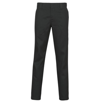 Clothing Men 5-pocket trousers Dickies SLIM FIT WORK PNT Black