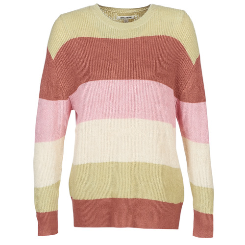 Clothing Women jumpers Billabong NIGHT OUT Pink