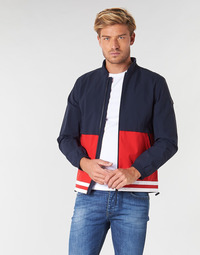 Clothing Men Jackets Aigle YRMUK Marine / Red