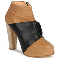 Shoes Women Shoe boots Terhi Polkki EINY Beige / Black