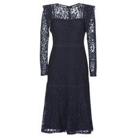 Clothing Women Short Dresses Lauren Ralph Lauren BLAIR Marine