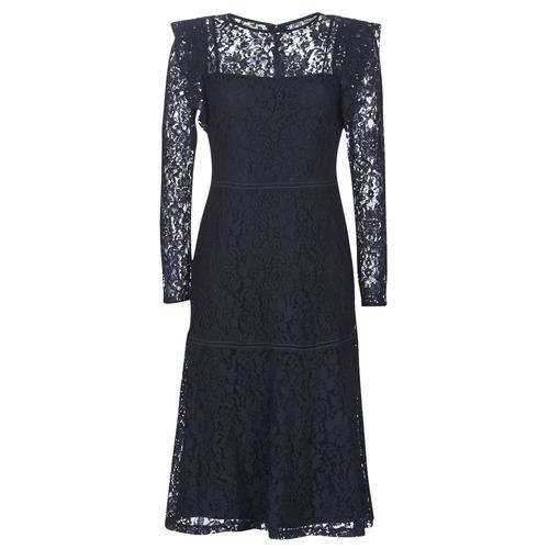 Clothing Women Short Dresses Lauren Ralph Lauren BLAIR Marine