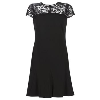 Clothing Women Short Dresses Lauren Ralph Lauren CALLY Black