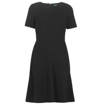 Clothing Women Short Dresses Lauren Ralph Lauren BABA Black