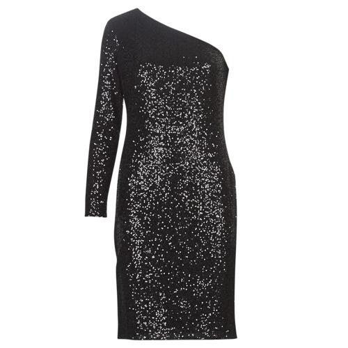 Clothing Women Short Dresses Lauren Ralph Lauren MARRI Black