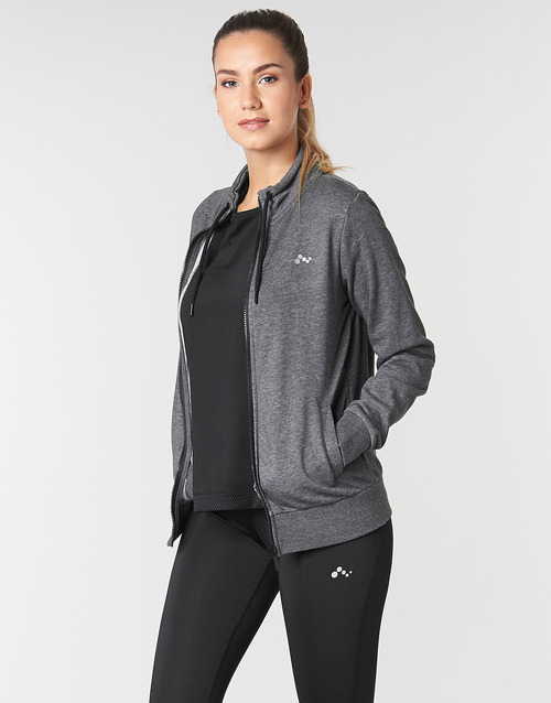 Clothing Women Sweaters Only Play ONPELINA Grey