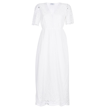 Clothing Women Long Dresses Betty London KATARELLE White