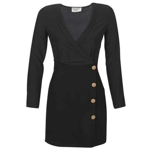 Clothing Women Short Dresses Moony Mood LUCE Black