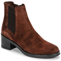 Shoes Women Ankle boots Casual Attitude LIOO Camel