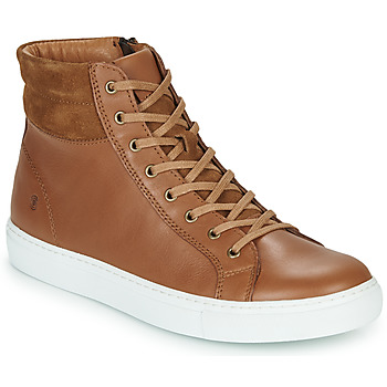 Shoes Men Hi top trainers Casual Attitude LUCKY Camel