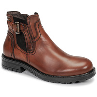 Shoes Men Mid boots Casual Attitude LANCELOT Cognac