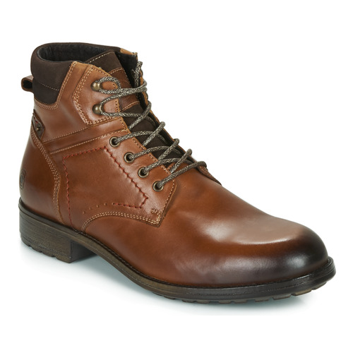 Shoes Men Mid boots Casual Attitude LULLY Cognac