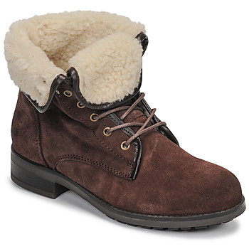 Shoes Women Mid boots Casual Attitude LEILA Brown