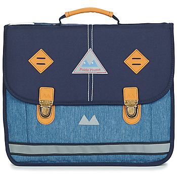 Bags Boy Satchels Poids Plume NEW LIGHT CARTABLE 38 CM Blue