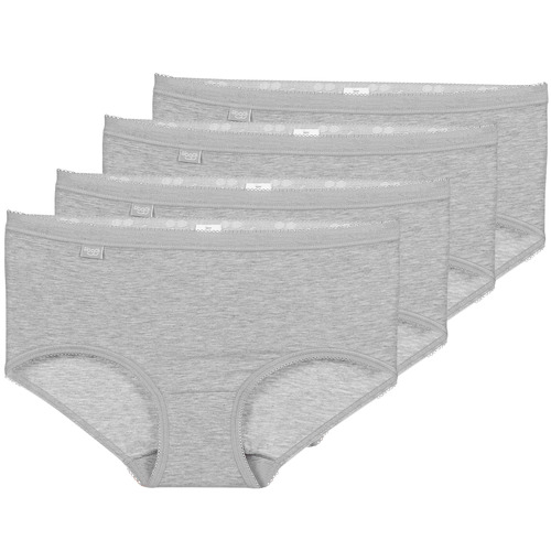 Underwear Women Knickers/panties Sloggi BASIC+ X 4 Grey