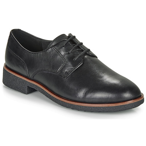 Shoes Women Derby Shoes Clarks GRIFFIN LANE Black