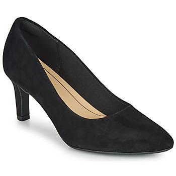 Shoes Women Heels Clarks CALLA ROSE Black