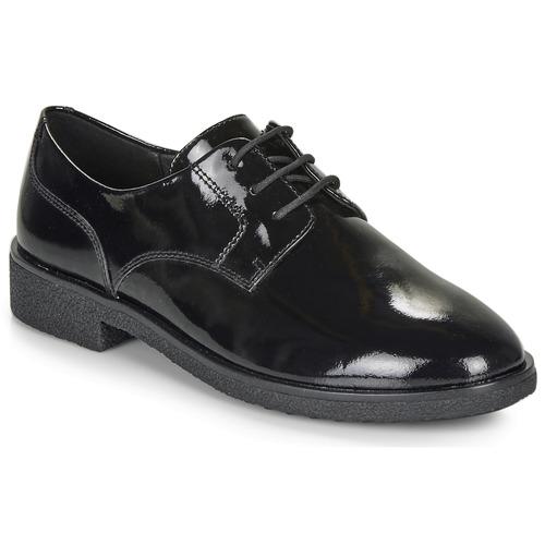 Shoes Women Derby Shoes Clarks GRIFFIN LANE Black