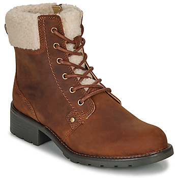 Vintage Boots, Retro Boots Clarks  ORINOCO DUSK  womens Mid Boots in Brown £79.00 AT vintagedancer.com