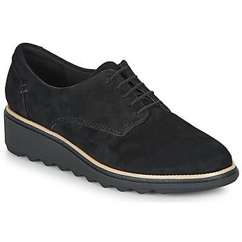 Shoes Women Derby Shoes Clarks SHARON NOEL Black