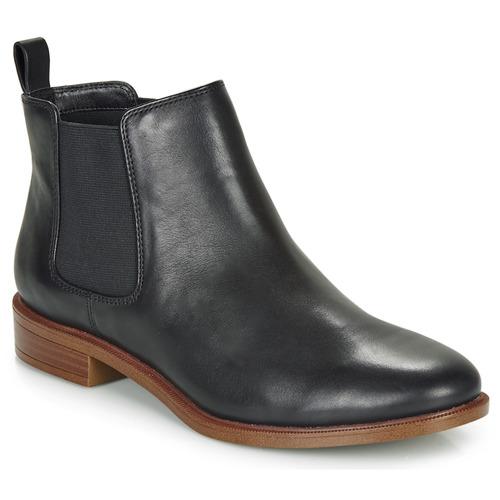 Shoes Women Mid boots Clarks TAYLOR SHINE Black